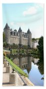 Chateau De Josselin Beach Towel