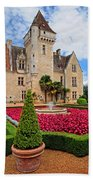 Chateau Des Milandes Beach Towel