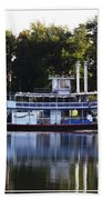 Chautauqua Belle On Lake Chautauqua Beach Towel