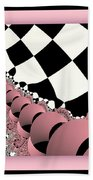Checkers The Mouse Mechanical Tail Beach Towel
