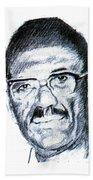 Cheikh Anta Diop Beach Towel