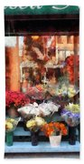 Chelsea Flower Shop Beach Towel