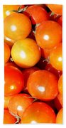 Cherry Tomatoes Beach Towel