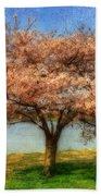 Cherry Tree Beach Towel