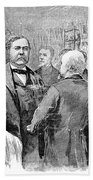 Chester Alan Arthur Beach Towel