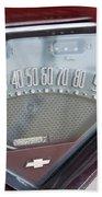 Chevrolet 3100 Truck Speedometer Beach Towel