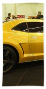 Chevrolet Camaro Bumblebee Beach Towel
