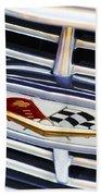 Chevrolet Emblem Beach Towel