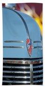 Chevrolet Hood Emblem 2 Beach Towel