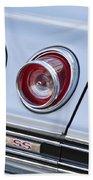Chevrolet Impala Ss Taillight Beach Towel
