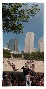 Chicago City Scenes Beach Towel