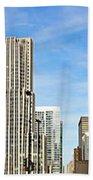 Chicago Panorama 1 Beach Towel