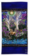 Chihuahuas On Unicorn Island Beach Towel