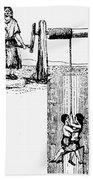 Child Labor, 1842 Beach Towel