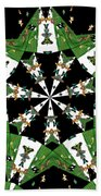 Children Animals Kaleidoscope Beach Towel