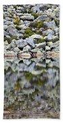 Chimney Pond Reflections Beach Towel