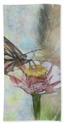 Chinese Butterfly Beach Towel