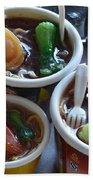 Chinese Food Miniatures 1 Beach Towel