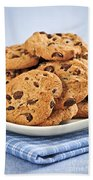 Chocolate Chip Cookies Beach Towel