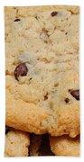 Chocolate Chip Cookies Pano Beach Towel