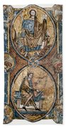 Christ And David Beach Towel