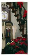 Christmas Angel Beach Towel