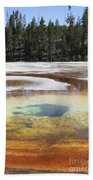 Chromatic Pool Hot Spring, Upper Geyser Beach Towel