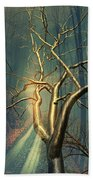 Chrome Forest Beach Towel