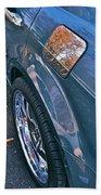 Chrome Tree Beach Towel by Bill Owen