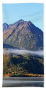 Chugach Mountains Beach Towel