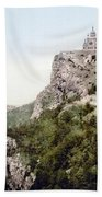 Church In Crimea - Ukraine - Russia Beach Towel