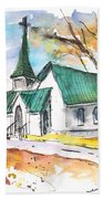 Church In Friars Point Mississippi Beach Towel