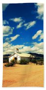 Church In Old Tuscon Arizona Beach Towel