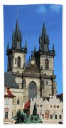 Church Of Our Lady Before Tyn Beach Towel