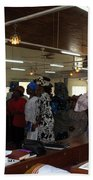 Church Service In Nigeria Beach Towel