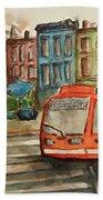 Cincinnati Streetcar Beach Sheet