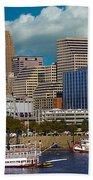 Cincinnati Tall Stacks  Beach Towel
