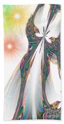 Cinderella's Wedding Night Beach Towel