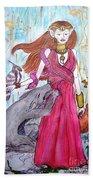 Circe The Sorceress Beach Sheet