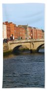 City Of Dublin Beach Towel