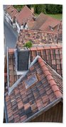 City Roofs Beach Towel