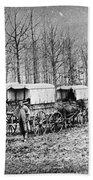 Civil War: Ambulances, C1864 Beach Towel