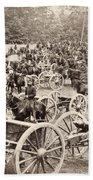 Civil War: Artillery, 1862 Beach Towel