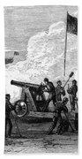 Civil War Battery Beach Towel