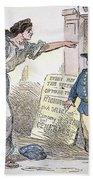 Civil War Cartoon Beach Towel