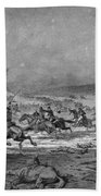 Civil War: Cavalry Charge Beach Towel