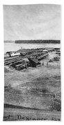 Civil War: Fort Defiance Beach Towel