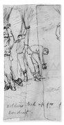 Civil War: Punishment Beach Towel