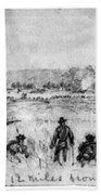 Civil War: Union Troops Beach Towel