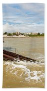 Clacton Lifeboat House Beach Towel
